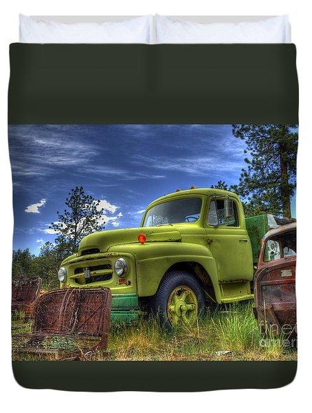 Green International Duvet Cover