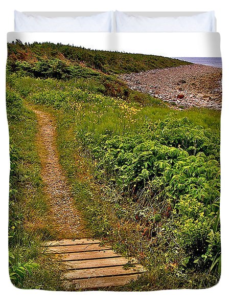Green Point Coastal Trail In Gros Morne Np-nl Duvet Cover