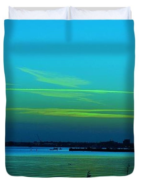 Northern Lights... Duvet Cover