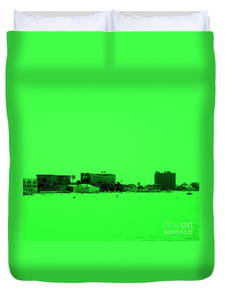 Green View. Special... Duvet Cover
