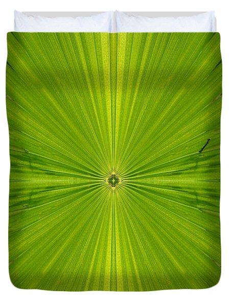 Greenburst Duvet Cover