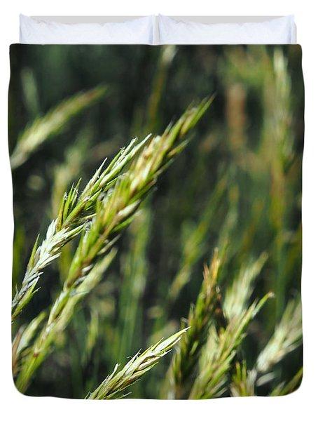 Greener Grass Duvet Cover by Kaleidoscopik Photography
