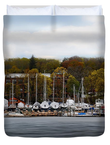 Greenwich Harbor Duvet Cover
