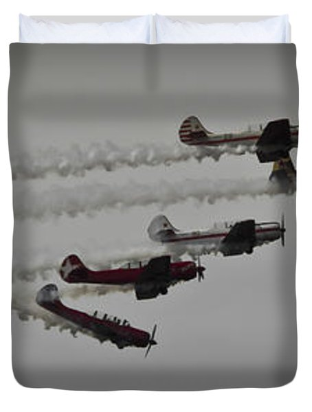 Greenwood Lake Airshow Northeast Raiders Duvet Cover
