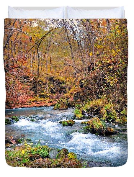 Greer Spring In Fall Duvet Cover by Marty Koch