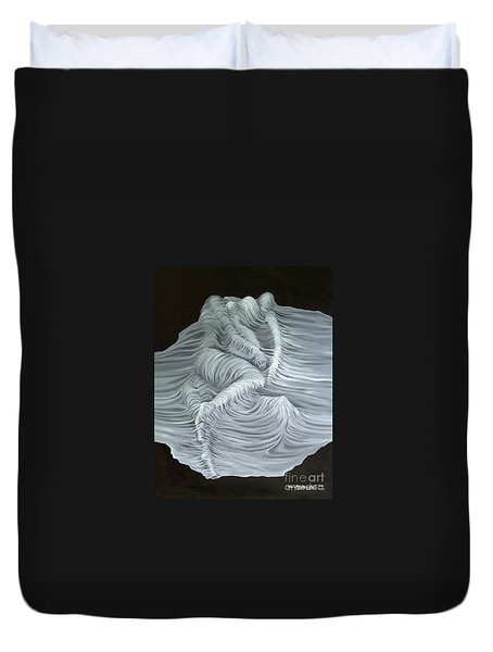Greyish Revelation Duvet Cover