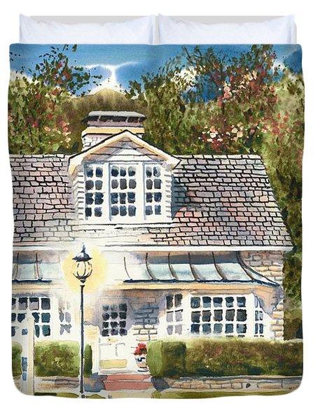Greystone Inn II Duvet Cover
