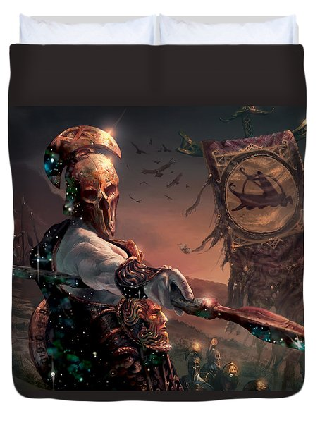 Grim Guardian Duvet Cover