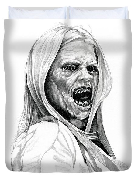 Grimm Hexenbiest Duvet Cover by Fred Larucci