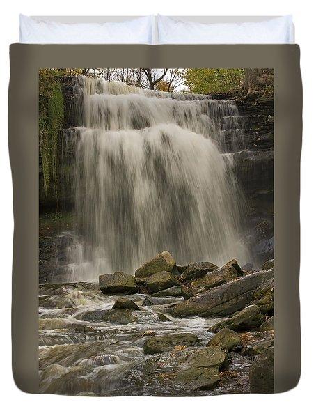 Grindstone Falls Duvet Cover