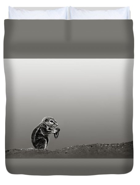 Ground Squirrel Duvet Cover by Johan Swanepoel