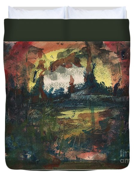 Ground Zero Duvet Cover