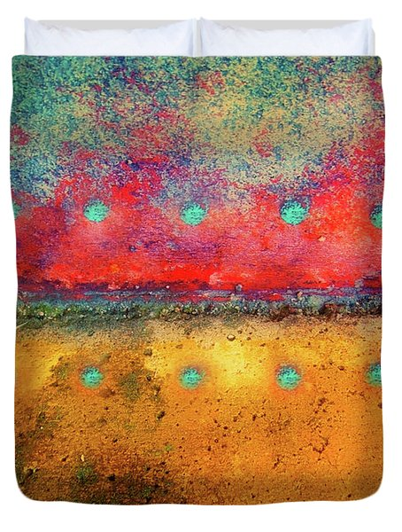 Grounded Duvet Cover by Tara Turner