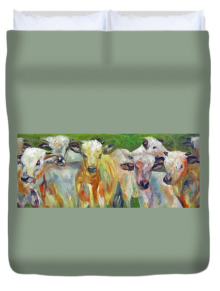 The Gathering, Cattle   Duvet Cover