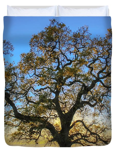 Growing In Life Duvet Cover