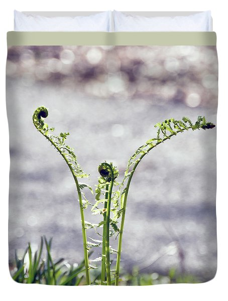 Growing  Duvet Cover by Kerri Farley