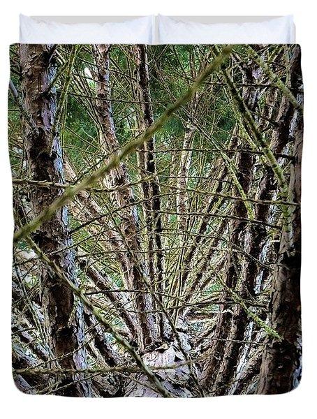 Growing Pine Duvet Cover