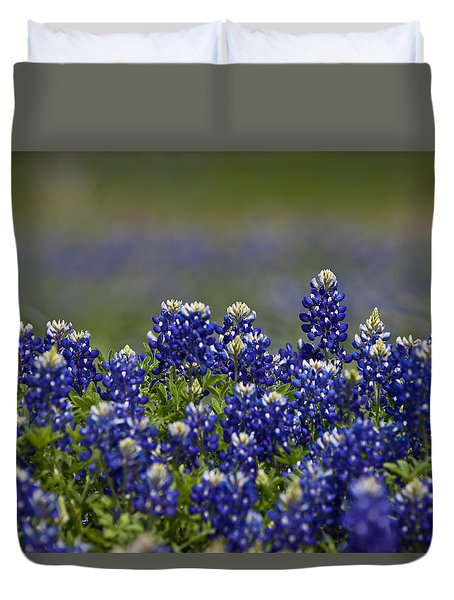Growing Wild Duvet Cover by Mark Alder