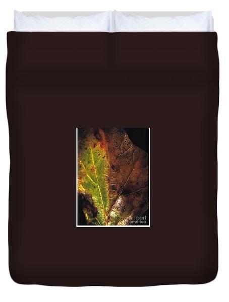 Growth-leaf Duvet Cover