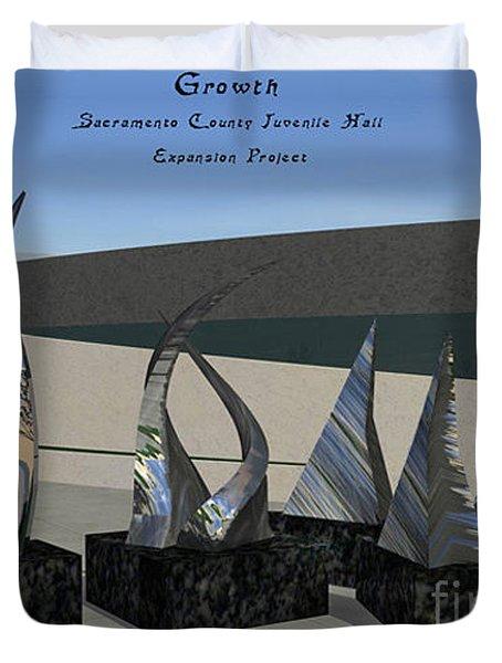 Growth Duvet Cover by Peter Piatt