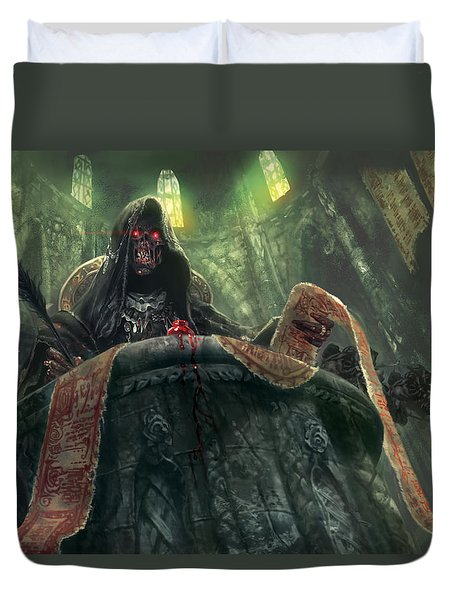 Grudge Keeper Duvet Cover