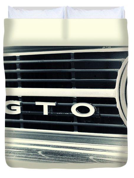 GTO Duvet Cover by Karol Livote