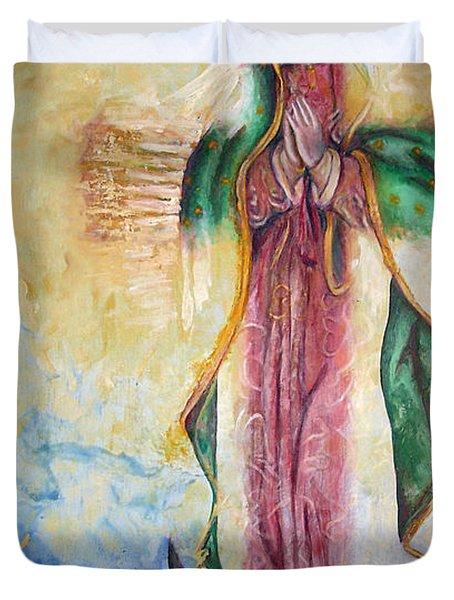 Guadalupana Duvet Cover