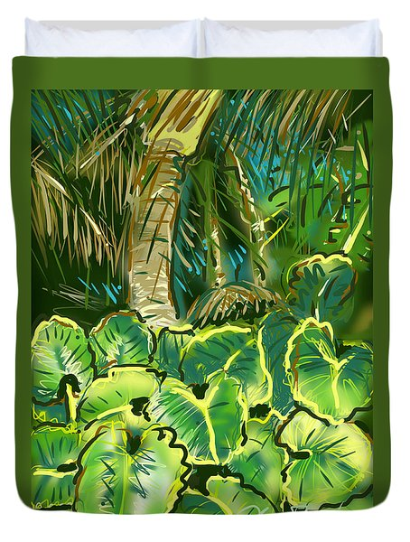 Guanabana Tropical Duvet Cover