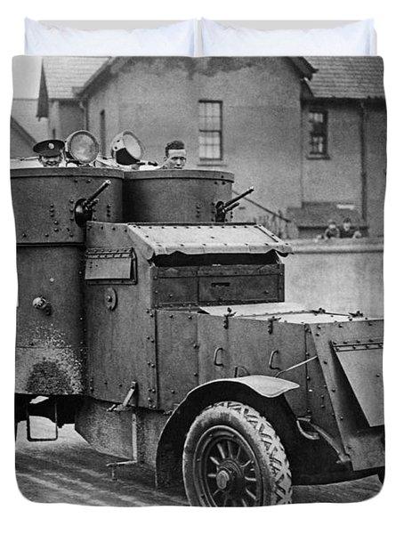 Guarding Sinn Fein Prisoners Duvet Cover