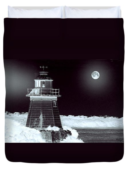 Guiding Lights Duvet Cover by Holly Kempe