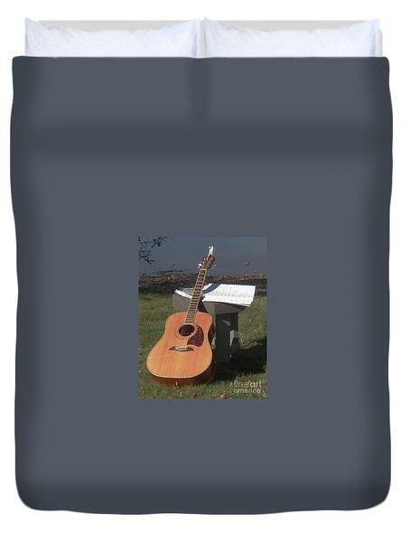 Guitar Solo Duvet Cover