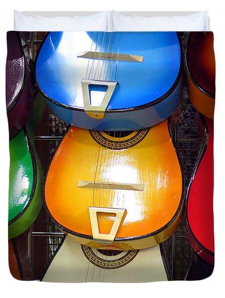 Guitaras San Antonio  Duvet Cover