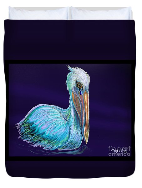Gulf Coast Survivor Duvet Cover