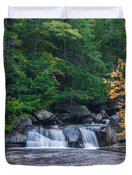 Gulf Hagas Brook Duvet Cover by Guy Whiteley