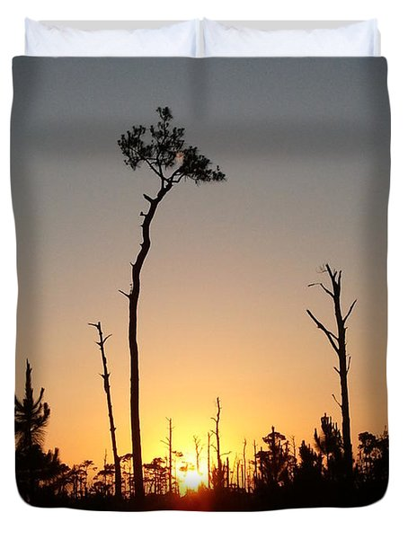 Gulf Shores Sunset Duvet Cover