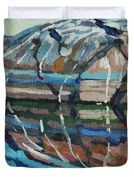 Gull Rock Duvet Cover