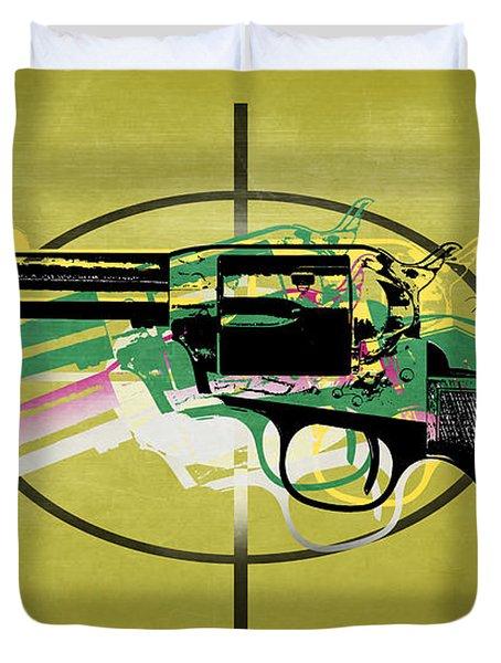 Gun 5 Duvet Cover