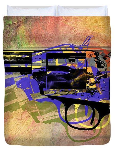 gun Duvet Cover