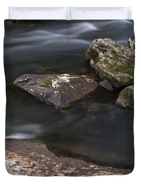 Gurggling Creek Duvet Cover