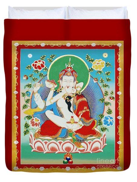 Guru Rinpoche Yab Yum Duvet Cover