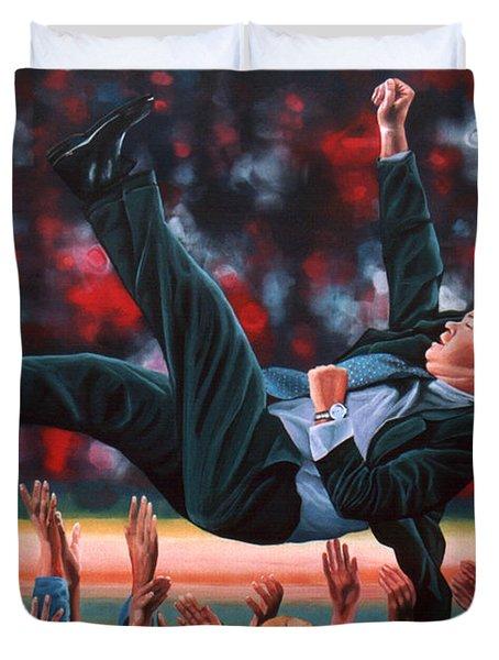Guus Hiddink Duvet Cover