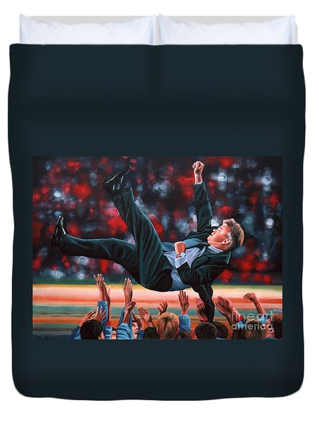 Guus Hiddink Duvet Cover