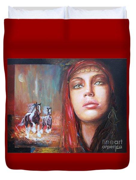 Gypsy Beauty Duvet Cover