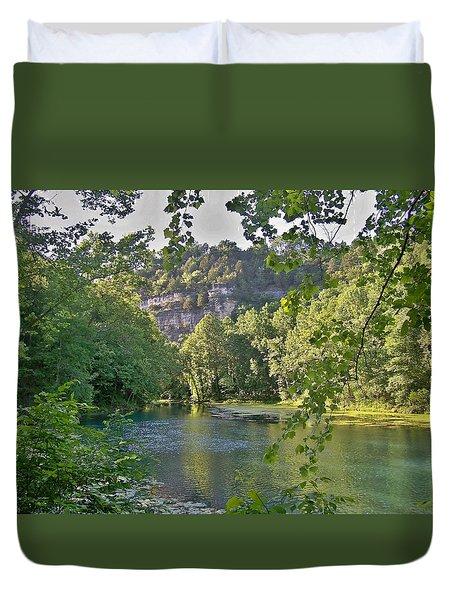 Ha Ha Tonka Spring Duvet Cover
