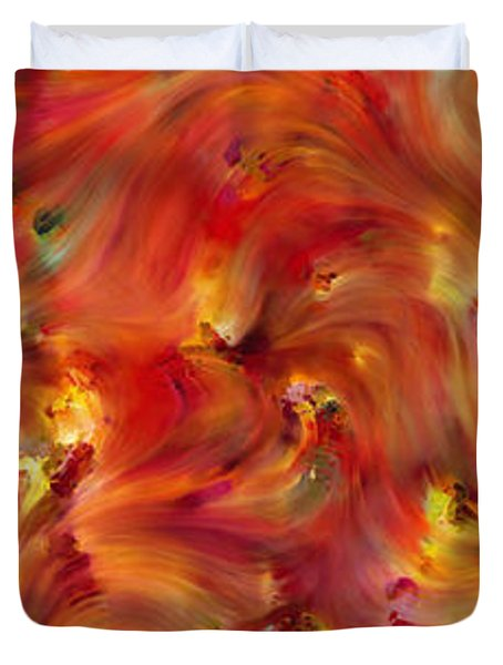 Habakkuk 2 3. The Patience To Wait For The Vision Duvet Cover