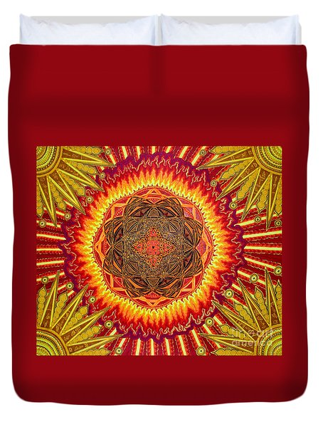 Hail To My African Sun Duvet Cover