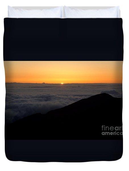 Haleakala Sunrise Duvet Cover by Benjamin Reed
