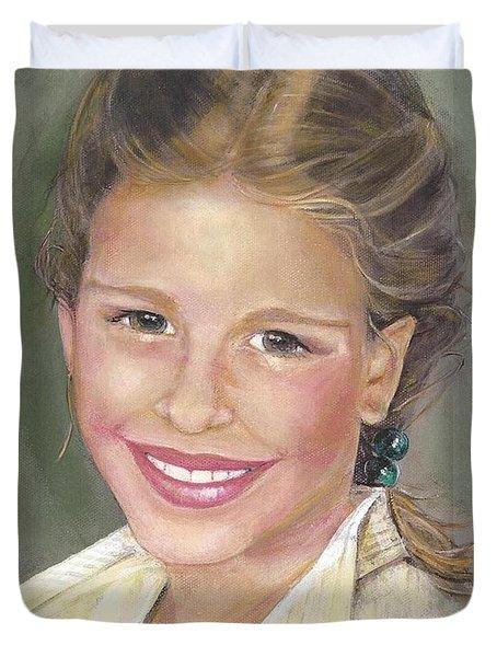Haley  Duvet Cover by Diane Strain