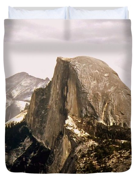 Half Dome Duvet Cover by Kathleen Struckle