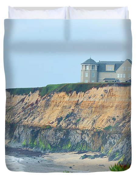 Half Moon Bay Duvet Cover